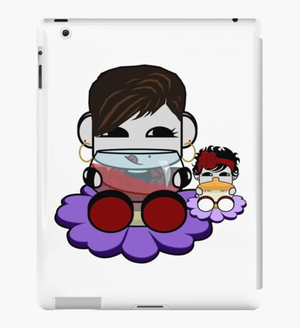 STPC: Flex & TaTa O'BOT Toy Robots (Wine and Bottle) iPad Case/Skin
