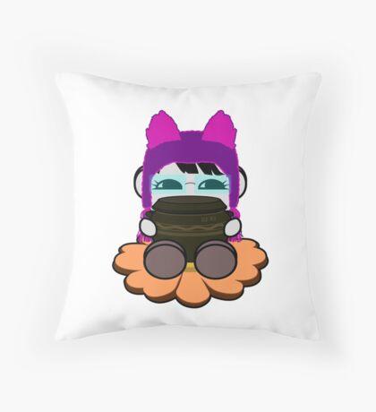 STPC: Ogi Gogi O'BOT Toy Robot (Kimchi Jar) Throw Pillow