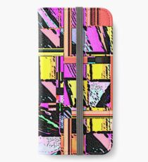 Abstract Color Squares iPhone Wallet/Case/Skin