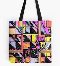 Abstract Color Squares Tote Bag