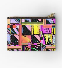 Abstract Color Squares Studio Pouch