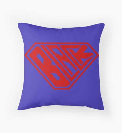 Black SuperEmpowered (Red) Floor Pillow