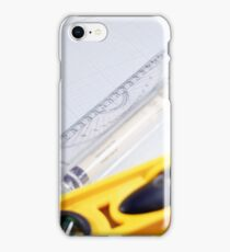 Tools of the architect. iPhone Case/Skin