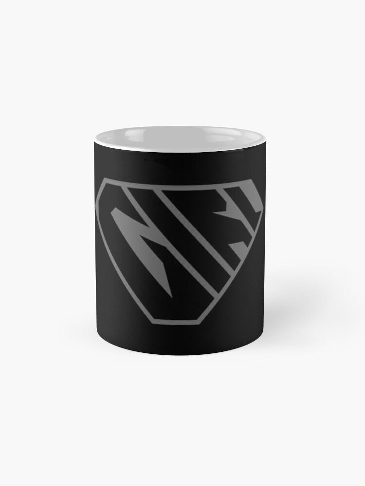 Alternate view of Girl SuperEmpowered (Black on Black) Classic Mug