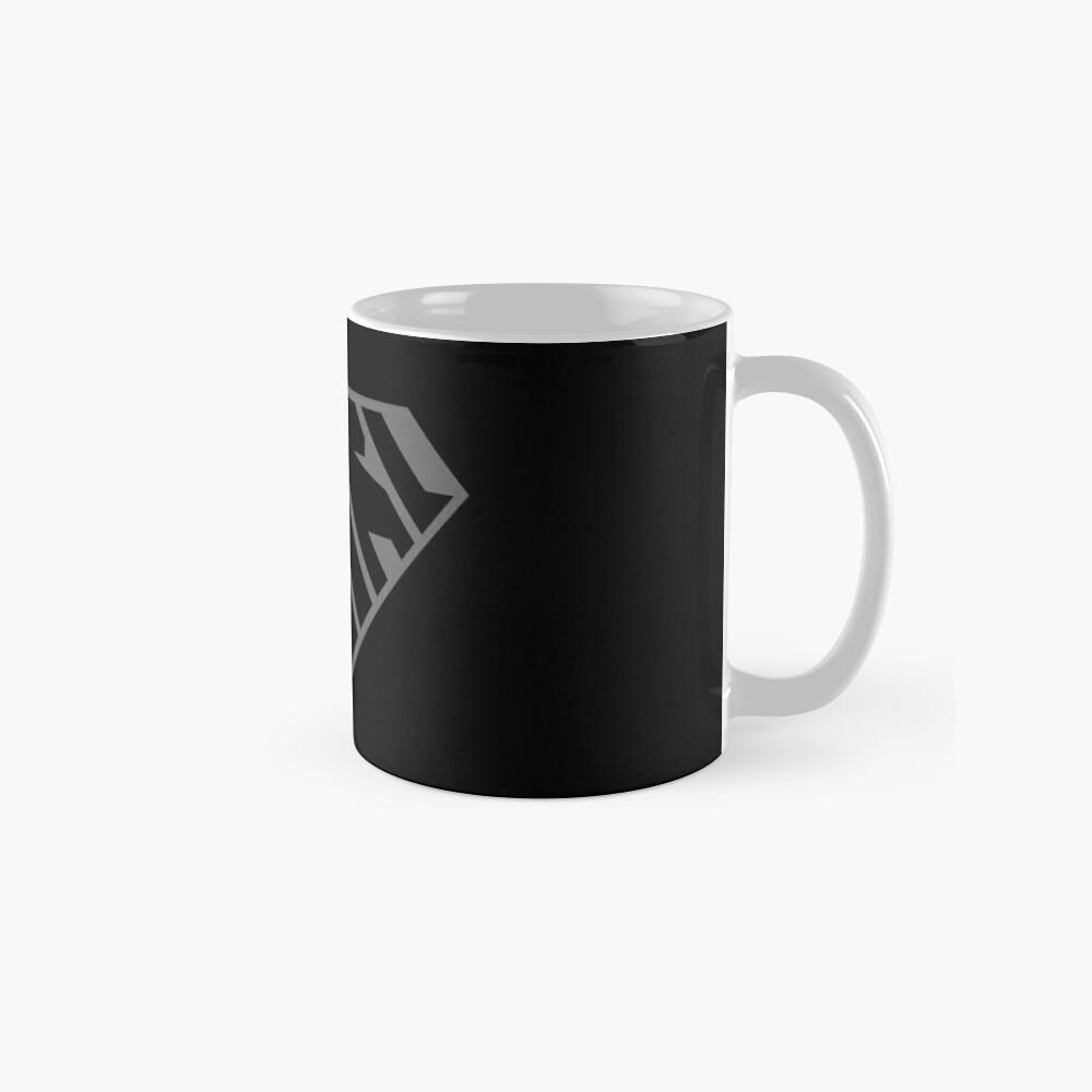 Girl SuperEmpowered (Black on Black) Classic Mug