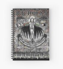 Nick Cave - A Celebration of the Cavernous. Spiral Notebook
