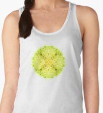 "116. ""Spirit of India: Mandala Fleur-Web"" in grass green and yellow T-Shirt"
