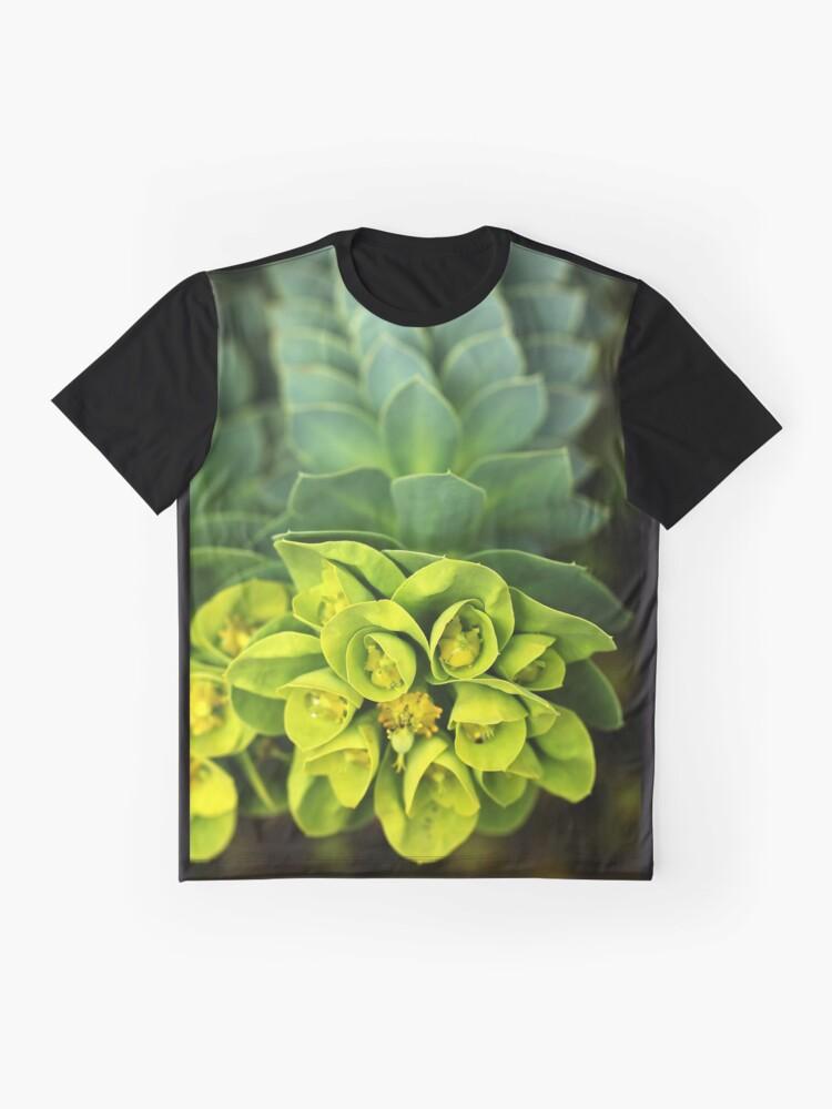 Alternative Ansicht von Esel Schwanz Grafik T-Shirt