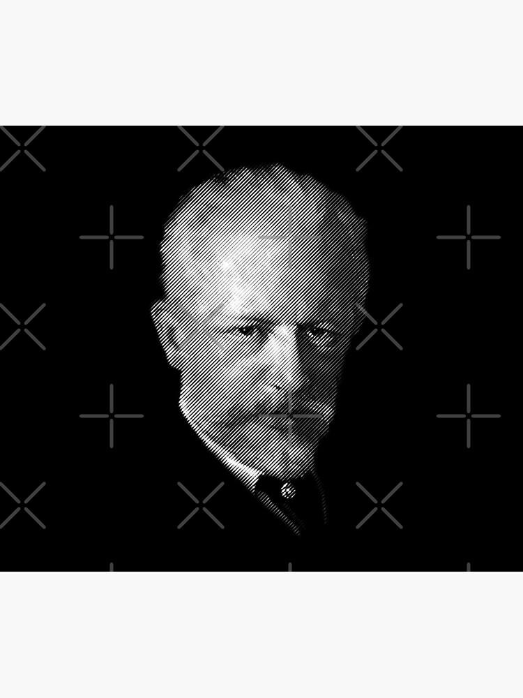 composer Tchaikovsky by kislev