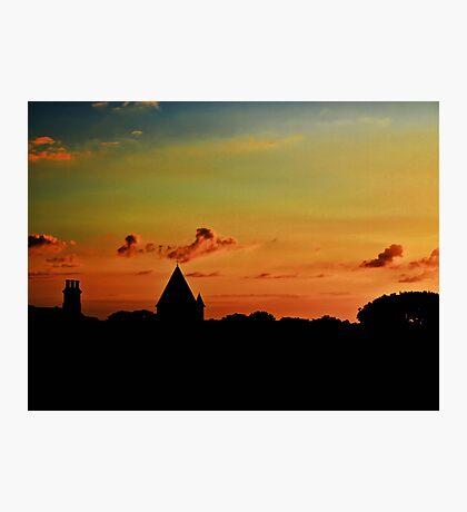 Last Light - Alderney Photographic Print