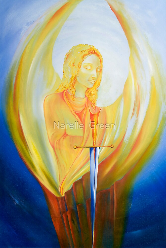 Archangel Michael by Narelle  Green
