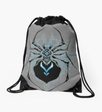 Spider Tron Drawstring Bag