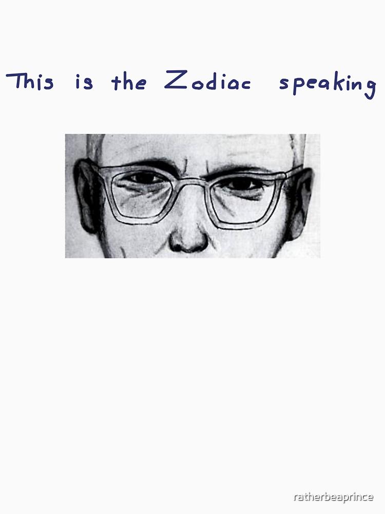 Wer Ist Zodiac
