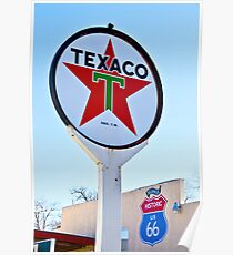 Seligman Texaco Poster