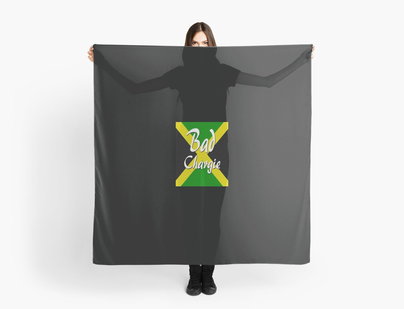 Jamaican Patois Patwa Patwah Bad Chargie Scarves By Matterotica