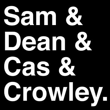 Supernatural Names by ZantheClothing