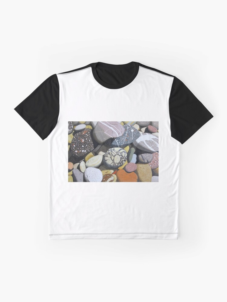 Alternate view of Coastal Rocks Graphic T-Shirt