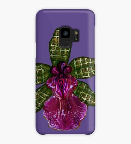 Pinque and Purrple Case/Skin for Samsung Galaxy