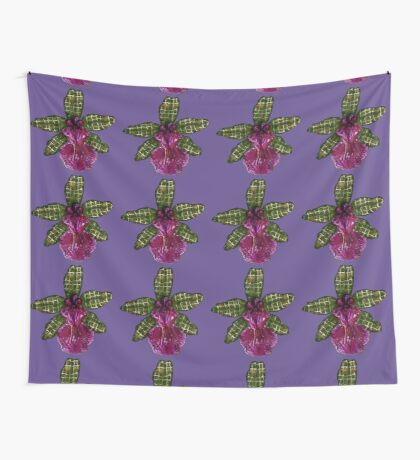 Pinque and Purrple Wall Tapestry