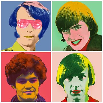 Warhol Monkees by bluechroma