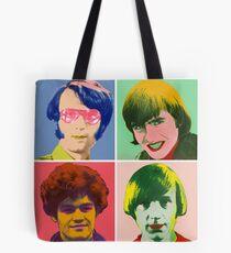 Warhol Monkees Tote Bag