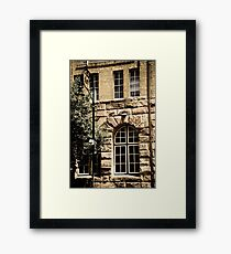 'streetscape' Framed Print