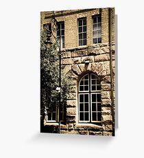 'streetscape' Greeting Card