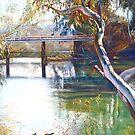 Goulburn Bridge II by Lynda Robinson