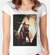 Hellboy : The Royal Women's Fitted Scoop T-Shirt