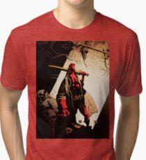 Hellboy : The Royal Tri-blend T-Shirt