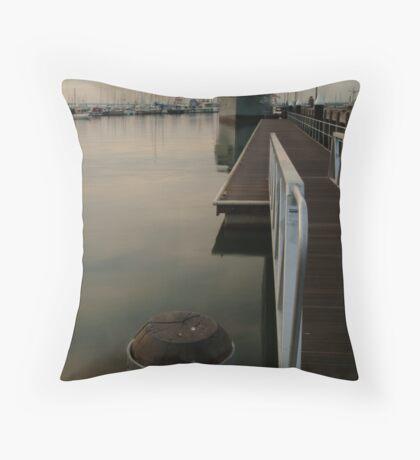 Gem Pier Williamstown Throw Pillow