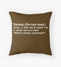 Po-tay-toes! Throw Pillow