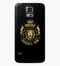 Pride is my deadly sin Case/Skin for Samsung Galaxy