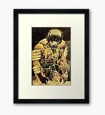 Frank Millers RONIN Edit Framed Print