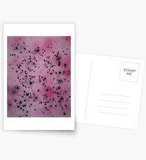 Martin Boisvert - Rose feline Postcards