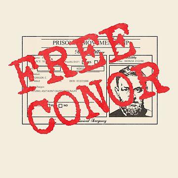 Free Conor - Mug Shot by Diardo