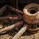 Wagon Wheel by Randy Turnbow