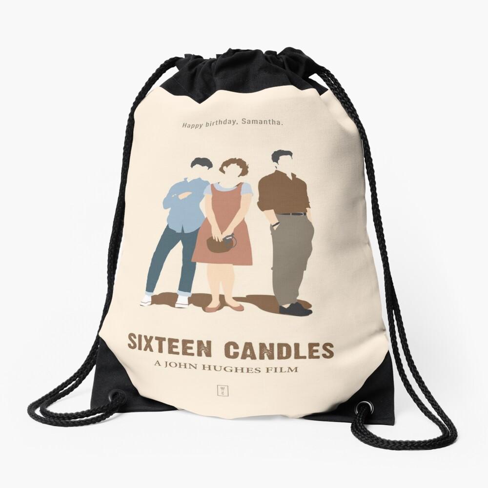 Sechzehn Kerzen Rucksackbeutel