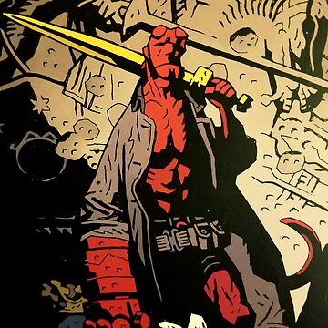 Hellboy The Storm and The Fury Copy by Oclibertine