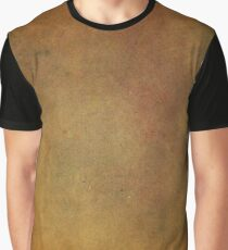 Ancient Copper and Rust Metallic Leather Like Texture Graphic T-Shirt