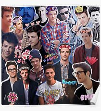 Grant Gustin Collage Poster