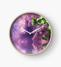 The Tranquil Beauty of Nature Clock