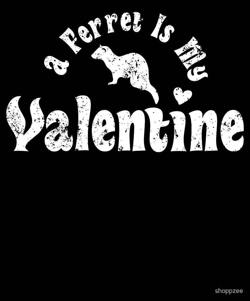 My Anti Valentine Pet Ferret Zoology Zoologist by shoppzee