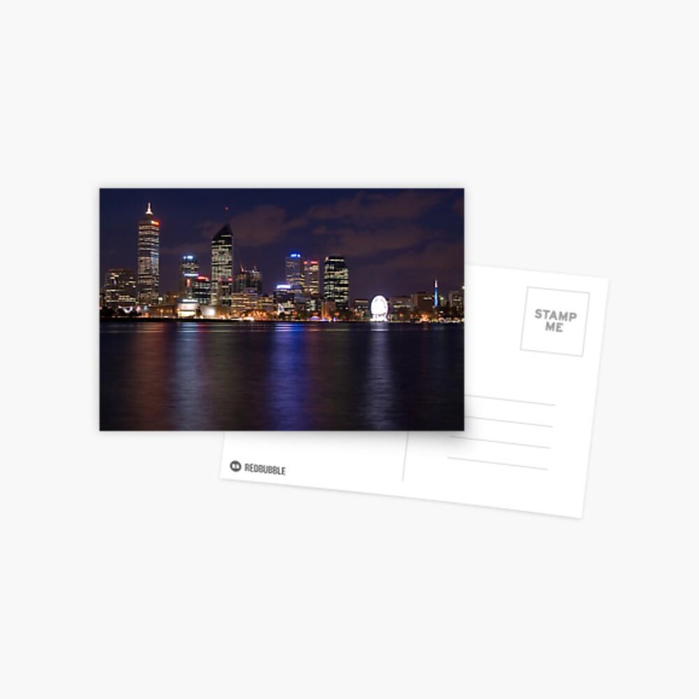 Perth by Night Postcard