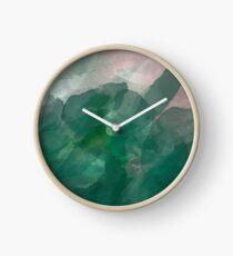 BLOTTER FADE Clock
