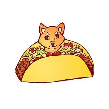 Shiba Taco by OneTruePenny