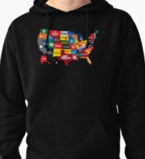 The Corporate States of America Pullover Hoodie