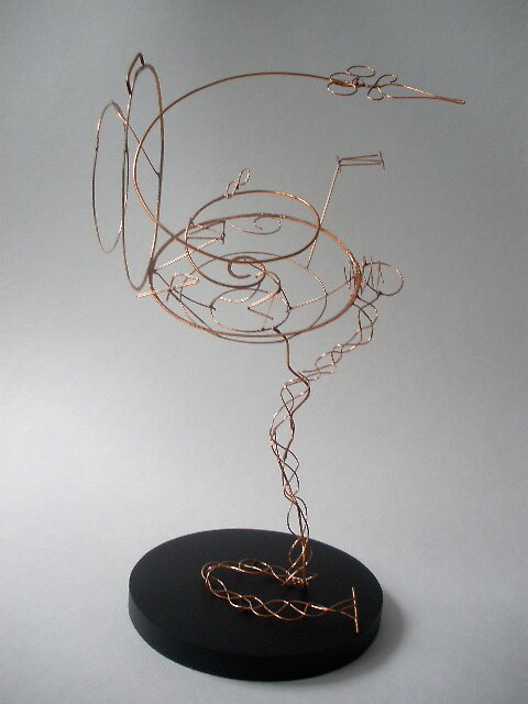 wire pocketwatch by MaeRaelin