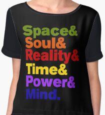 Infinity Stones Colored Chiffon Top