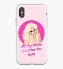 Trixie Mattel Jokes - Rupaul's Drag Race iPhone Case